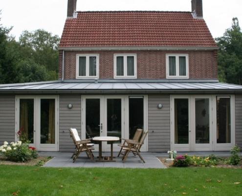 Verbouw vrijstaande woning te Arnhem